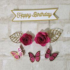 3d Floor Art, Birthday Wishes, Happy Birthday, Cricut Craft Room, Diy For Teens, Cake Smash, Happy Planner, Birthday Decorations, Planner Stickers