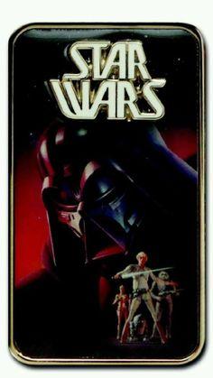 2014 Star Wars Weekends Rebel Rendezvous Darth Vader Concept Poster Pin LE1900 #disneystarwarsweekends