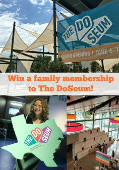Win a Premier Family Membership for one year to The DoSeum from San Antonio Mom Blogs!
