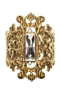Shop the Trend: The BAZAAR Gold Standard - Tom Binns cuff