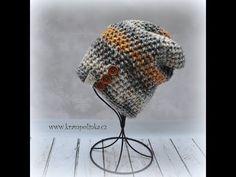 Homeleska Show Batik · Návody háčkování Krampolinka Crochet Mittens, Crochet Hats, Slouchy Beanie, Crochet For Kids, Beret, Beanies, Knitting, Youtube, Easy