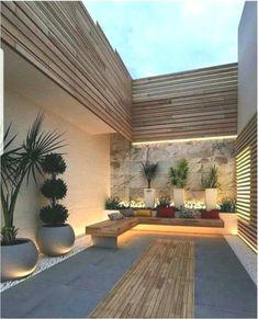 Backyard Seating, Backyard Patio Designs, Small Backyard Landscaping, Modern Landscaping, Garden Seating, Patio Ideas, Backyard Ideas, Back Garden Design, Terrace Design