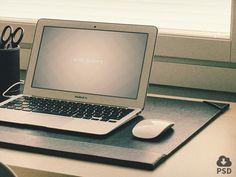 3 Macbook Air mockups