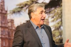 "Downton Abbey's Jim Carter.. "" Wand Aid fundraiser pictures (pics from Twitter) "" .."
