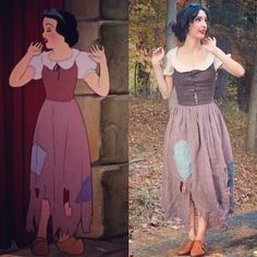 Disney Cosplay Snow White on Halloween - More memes, funny videos and pics on Clever Halloween Costumes, Halloween Cosplay, Halloween Outfits, Cool Costumes, Costumes For Women, Woman Costumes, Couple Halloween, Adult Costumes, Costume Ideas