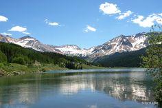 Trout Lake, Near Ophir, Colorado