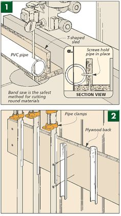 28 Best PVC pipe clamps / jig/s images in 2013 | Diy tools, Pvc pipe