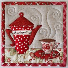 time for tea mug coaster