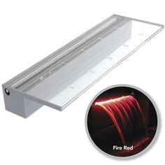 """Features: -30 ft power cord. -Max flow rate: 1000 GPH - 3000 GPH. -The inlet is 3"""". Product Type: -Lighted waterfall spillway. Country of Manufacture: -United States. Generic Specifications: -12"""