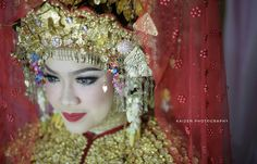 Tradisional wedding of south Sumatera