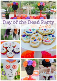Day of the Dead Party for Kids {Around My Family Table}