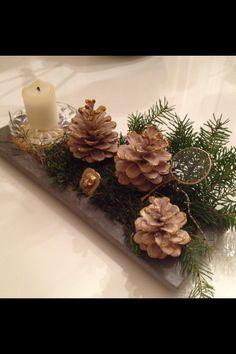 årets juledeco med tak for ideer fra pinterest