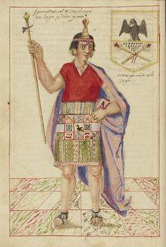 """inca de martin de murrua 3) """"Historia  del origen y descendencia de los incas"""" 1614"""