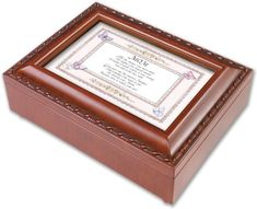 Mom Mother Love Woodgrain Music Jewelry Box Plays Wind Beneath My Wings ** You can get more details by clicking on the image.