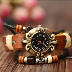 Cool! Retro National Style Bracelet Watch just $27.9 from ByGoods.com! I can't wait to get it!