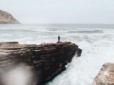 We found the edge of the world || Captured by @philipleclerc #LensDistortions