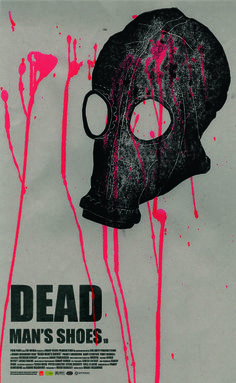 Poster for Dead Man's Shoes Linocut © Alyx Hardy Creative Posters, Cool Posters, Film Posters, Shane Meadows, Hollywood Poster, Fan Poster, Recent Movies, Cinema Film, Music Film
