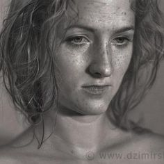 Charcoal drawing - I'd love to be this good