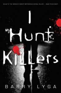I Hunt Killers by Barry Lyga I saw this is Barnes and noble the other day...looks interesting