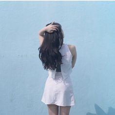@hyunxah se ha hecho un #aaselfie con la Lulu Crop Top y Lulu Skirt #AmericanApparel #AASummer