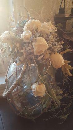 My dried wedding bouquet