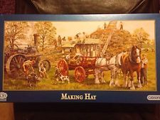 GIBSONS JIGSAW PUZZLE MAKING HAY 636 SERIES
