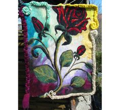 Valentine'S  GiftsFelt Wall PictureFelt Wall by RumiWay on Etsy, $97.00