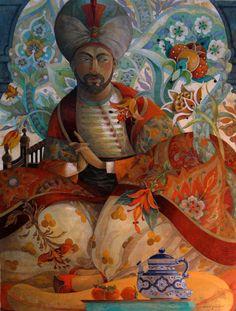 """David Galchutt - """"The Patterned Pasha"""""""