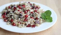 Quinoa Pomegranate Walnut Salad