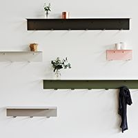 LifeSpaceJourney Wall Hook Shelves