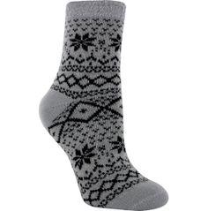 Field /& Stream Cozy Cabin Socks - Youth One Size Gray//Purple NWT