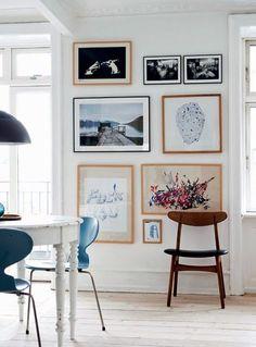 Living Room : Copenhagen apartment full of design treasures via Coco Lapine Design Decoration Inspiration, Inspiration Wall, Interior Inspiration, Decor Ideas, Decorating Ideas, Wall Ideas, 31 Ideas, Travel Inspiration, Room Ideas