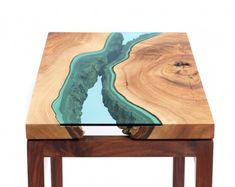 OMG these river tables are beautiful.  The talent that is out there never ceases to amaze me.  #wood #table