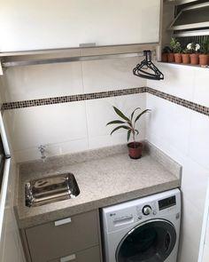 Kitchen Room Design, Laundry Room Design, Kitchen Cabinet Design, Modern Kitchen Design, Home Decor Kitchen, Interior Design Kitchen, Bathroom Interior, Small Apartment Kitchen, Home Design Decor