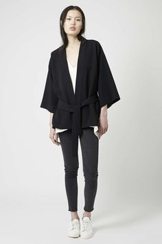 Photo 2 of Belted Kimono Jacket