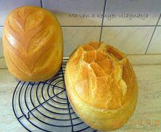 Viki Egyszerű Konyhája: Ma van a kenyér világnapja - Foszlós kenyerem Handmade, Hand Made, Arm Work