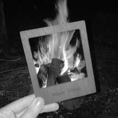 Happy Saturday! We're starting a new campaign where we use our wooden polaroid frames to capture special moments in life. We'd love for you to get involved so feel free to upload your images and tag us in. Here's a photo from Katie, our Product Designer, on a recent camping trip  #capture #picturethis #photo #photography #frame #fwis