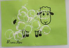 Un mouton en rouleau !