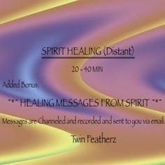 Distant Spirit Healing