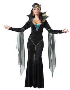 Disfraz chica Hechicera Malvada  Con este disfraz podrás hechizar a todo aquel que se te ponga por delante.