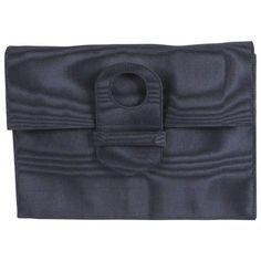 Buy vintage 1960s Silk Moire Dark Navy blue Clutch bag £330.00, Second Hand & Vintage  Clutch Bags for Sale, 100% Authenticity Guaranteed, Worldwide Shipping