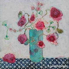paintings sold by Sandrine Pelissier -Watercolor and mixed media paintings