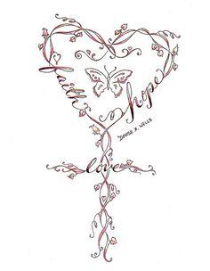Cross Tattoo Design Ideas | Cross Tattoo design by Denise A. Wells | Flickr - Photo Sharing!