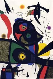 Joan Miro cannot really be called a true cat lover even though many of his works include felines. An unfortunate story is that Miro had a cat that he. Spanish Painters, Spanish Artists, Joan Miro Paintings, Hieronymus Bosch, Pablo Picasso, Art Lessons, Art History, Modern Art, Art Projects