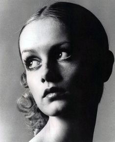This iconic image of model Twiggy in the 1960s instantly propelled her into superstardom and into a fashion icon herself. Description from pinterest.com. I searched for this on bing.com/images