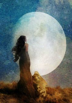 ☽☽ ℓa ℓuna ☾☾ Man in the Moon by Aimee Stewart Sun Moon Stars, Sacred Feminine, Feminine Energy, Moon Magic, Beautiful Moon, Illustration, Moon Goddess, Moon Art, Nocturne