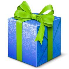 선물상자 - 녹색