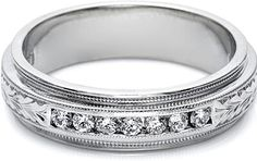 http://www.since1910.com/tacori-u5042e-mens-wedding-band-with-hand-engraved-detail-and-channel-set-diamonds-6-0mm
