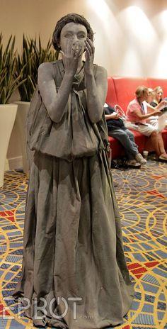Weeping angel costume!