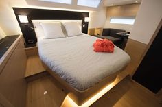 Amel 50 Interior Owners Cabin